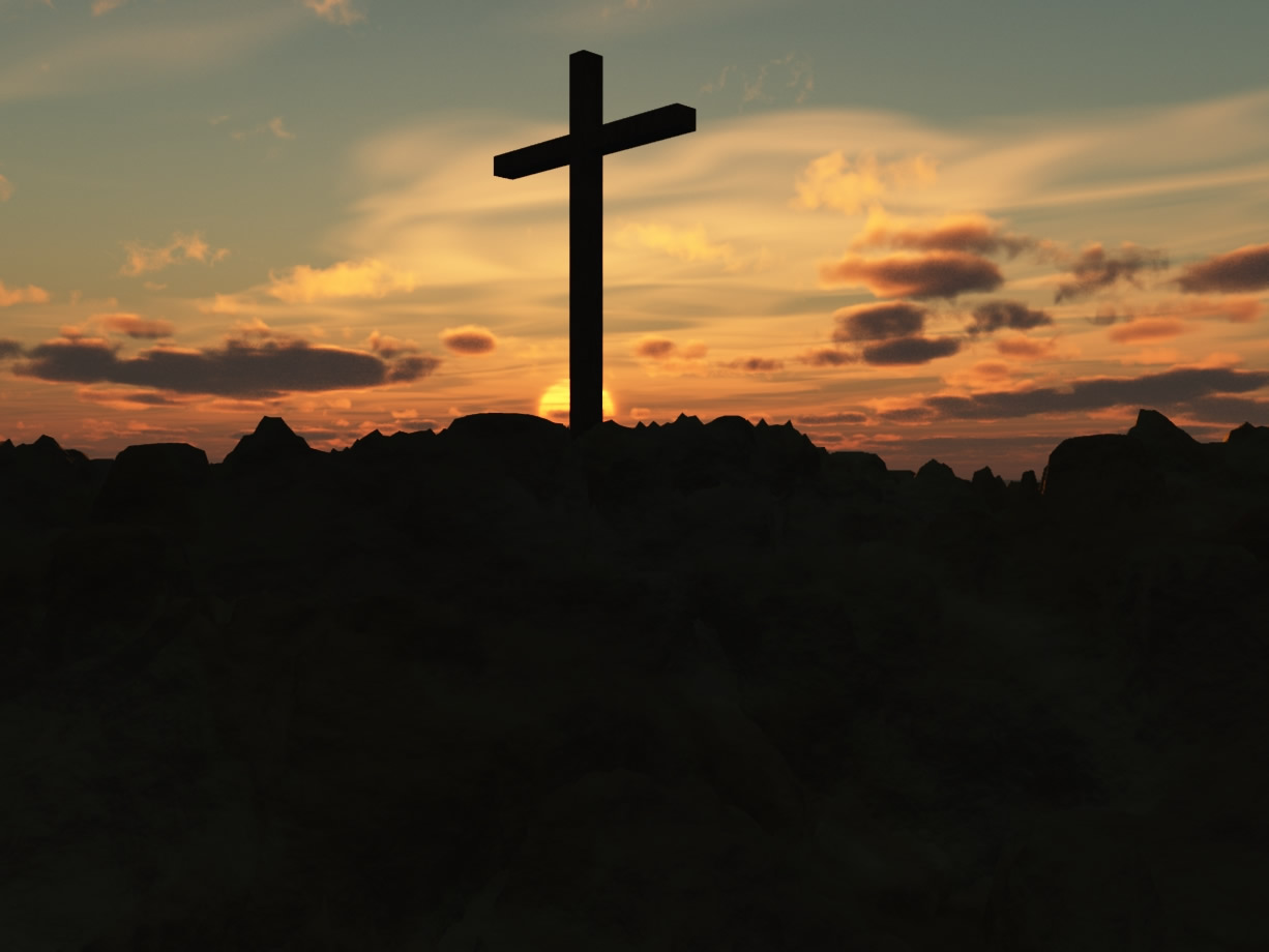Cross Sunset