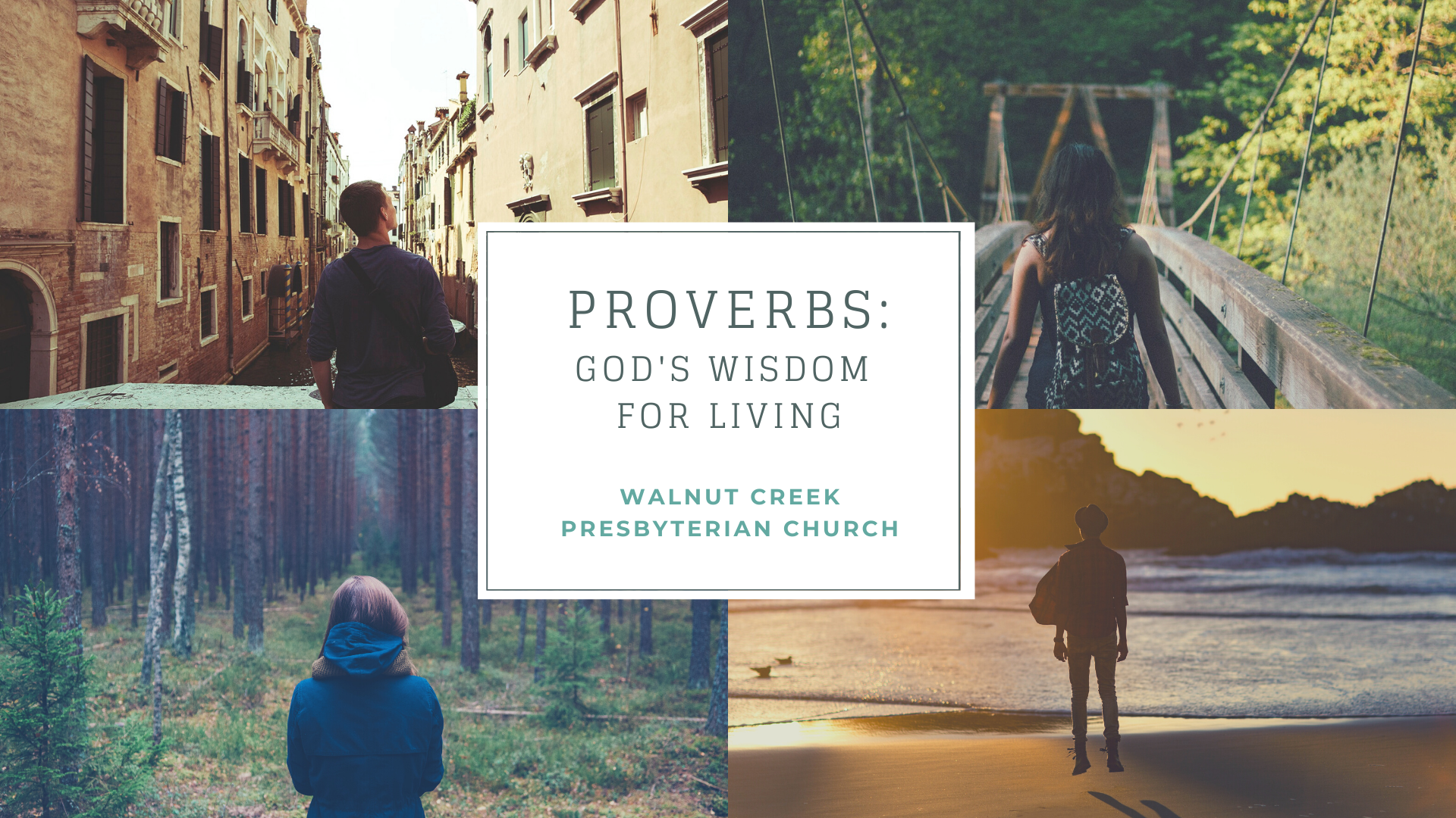banner Proverbs Sermon Series 2020