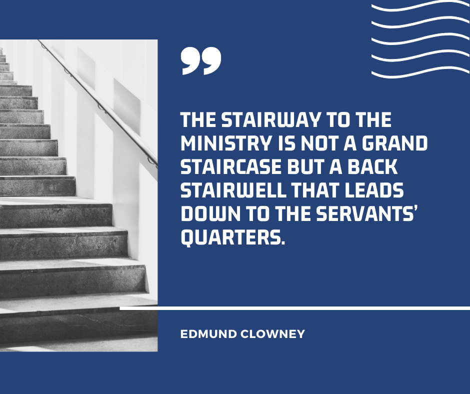 Ministry Stairway Quote
